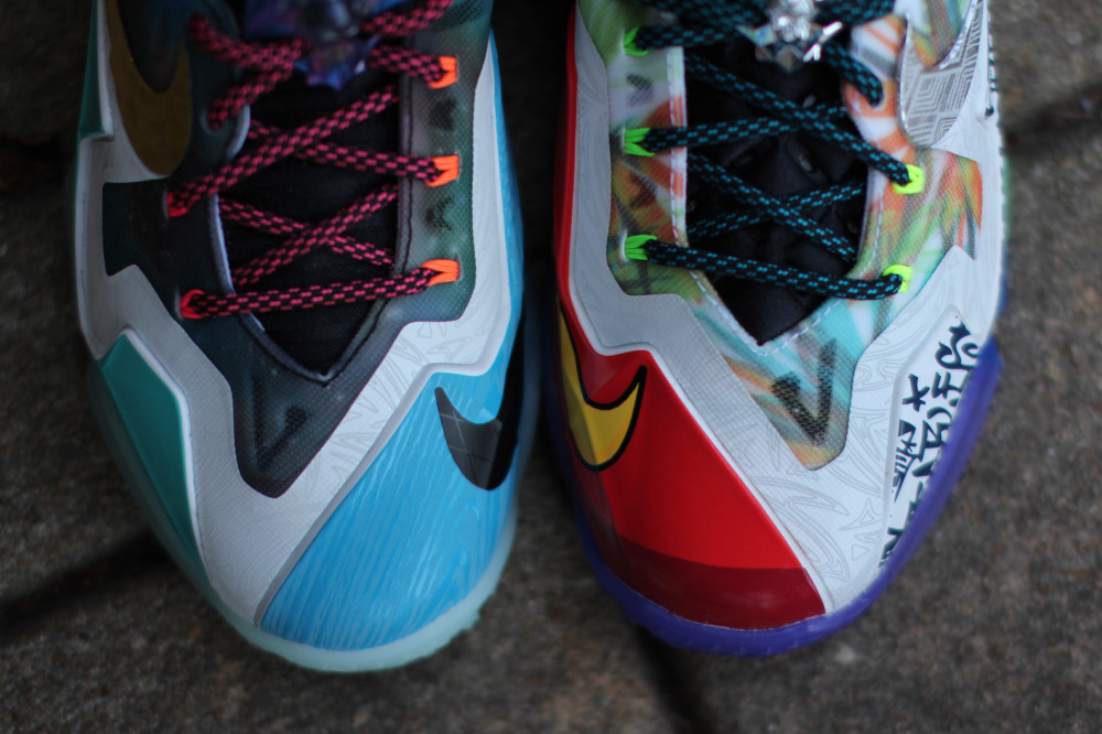 Nike LeBron 11 What the 4 1000x666