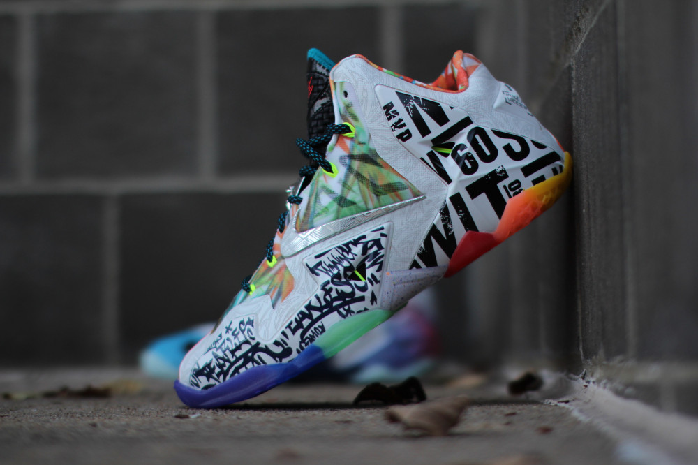 Nike LeBron 11 What the 6 1000x666