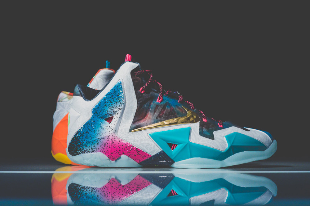 Nike Lebron 11 What the 2 1000x667