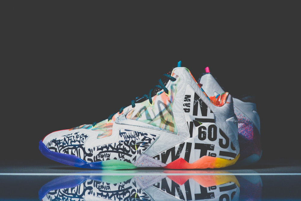 Nike Lebron 11 What the 3 1000x667