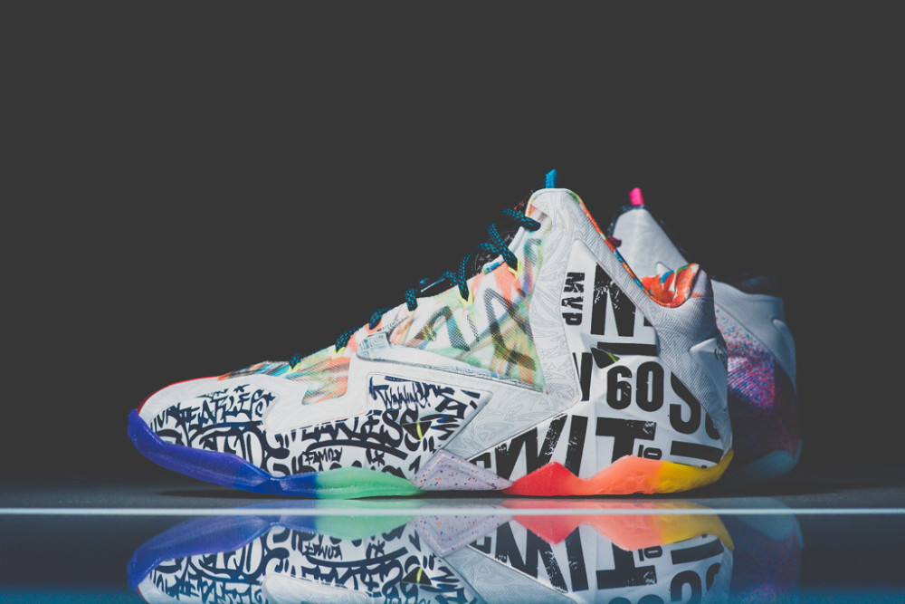 Nike Lebron 11 What the 4 1000x667