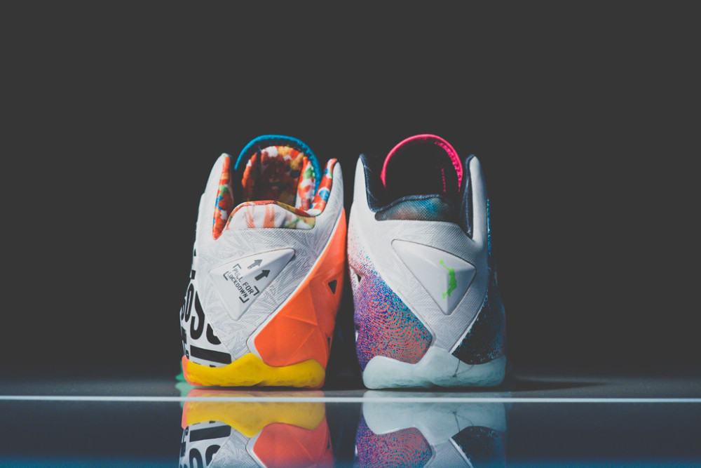 Nike Lebron 11 What the 5 1000x667