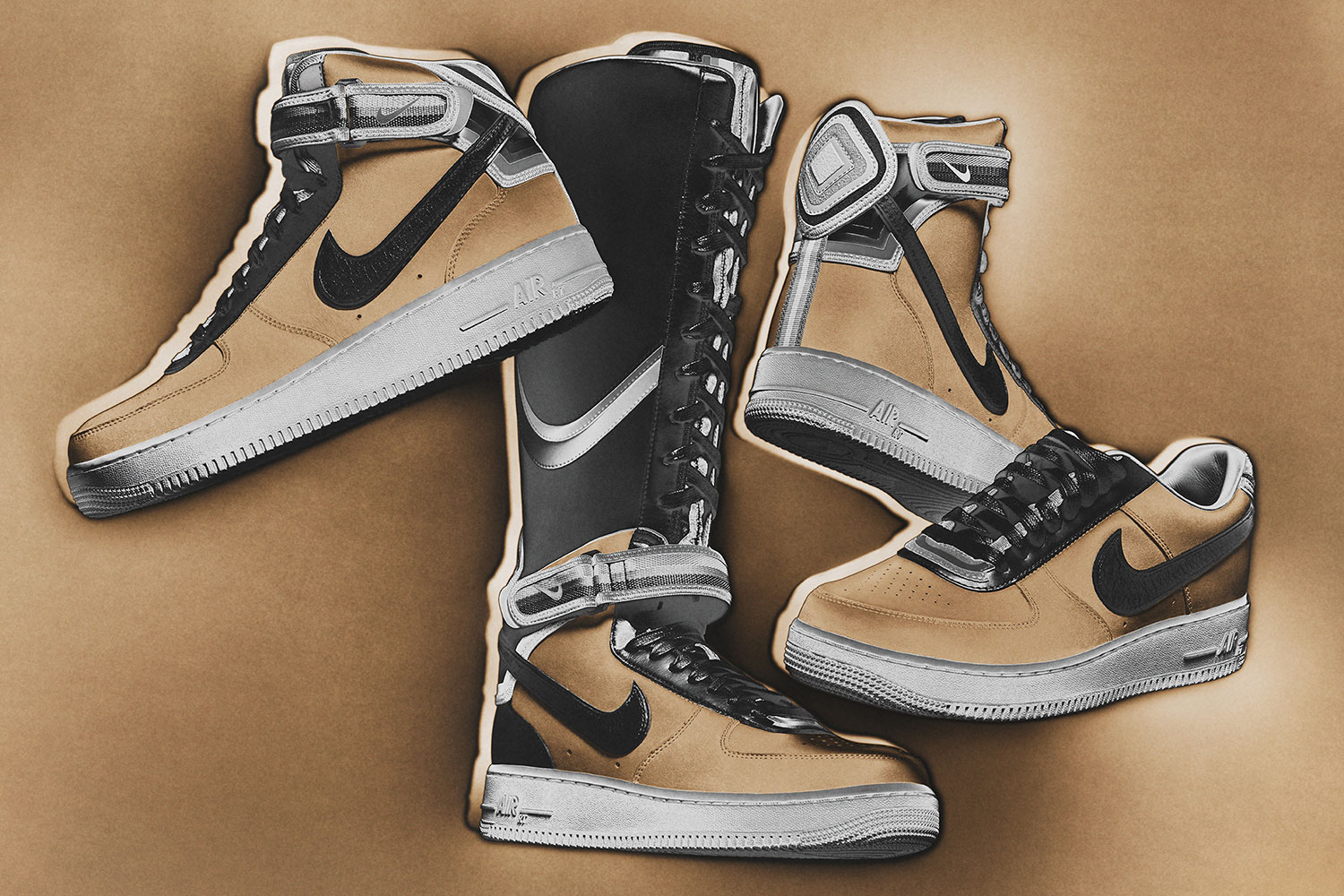 Nike R. T. Air Force 1 Beige Collection 1