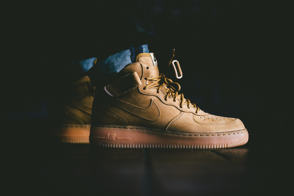 Nike Air Force 1 Mid Flax Collection 1
