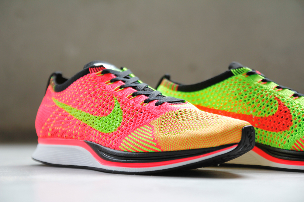 Nike Flyknit Racer Hyper Punch Volt 2 1000x666