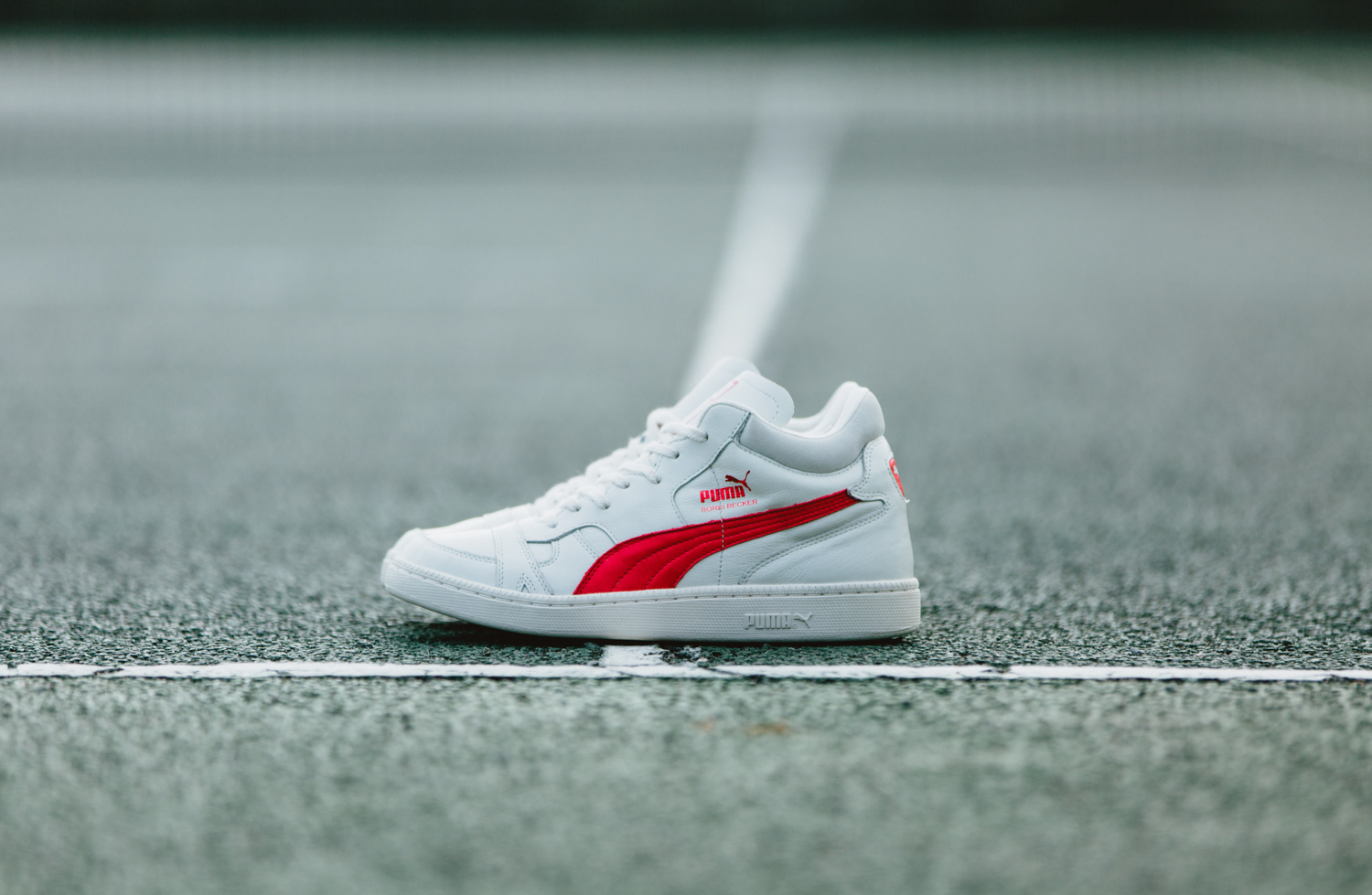 Puma Boris Becker OG Whisper White Red 1