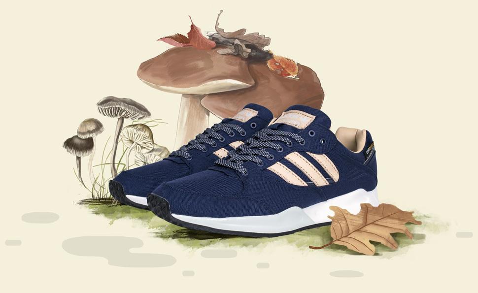 Sneakersnstuff x adidas Originals Tech Super Autumn Stories 1