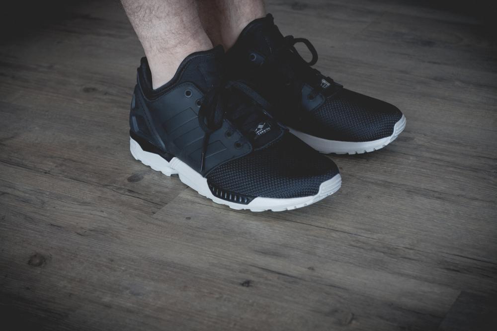 adidas Originals ZX FLUX NPS 2.0 Black Review 2 1000x666