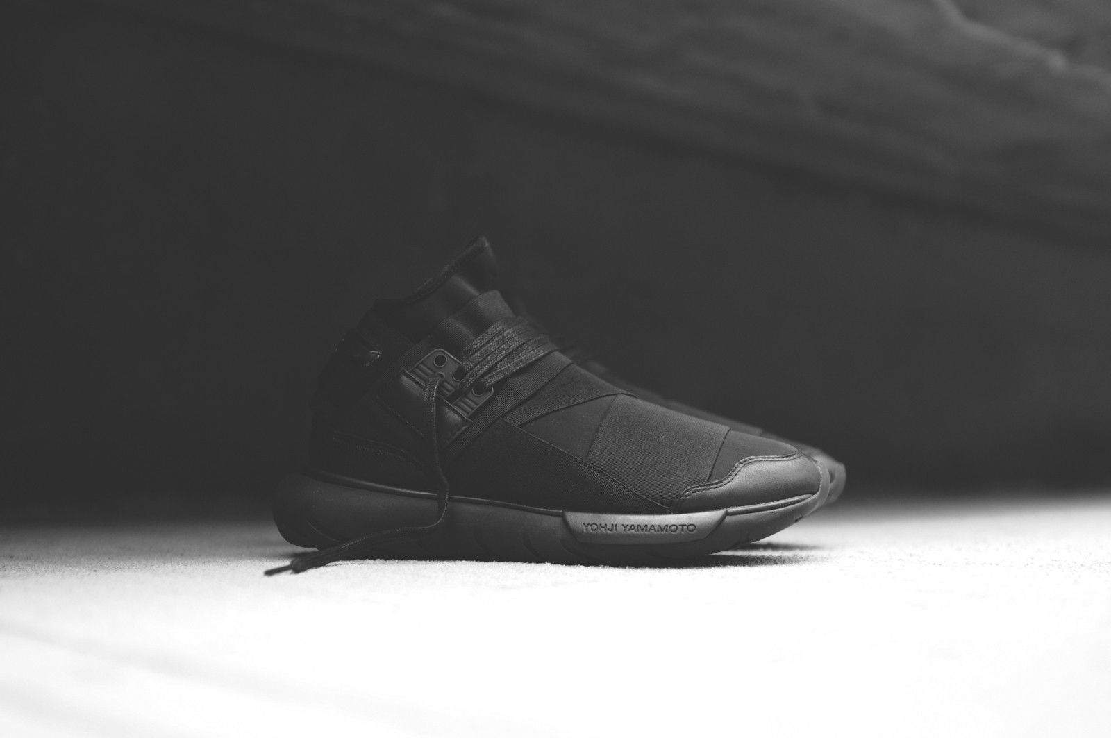 adidas Y 3 Qasa High Triple Black 1