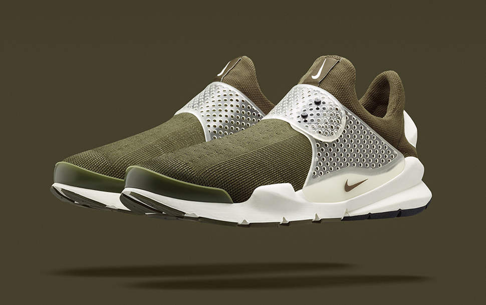 fragment design x Nike Sock Dart Khaki 1
