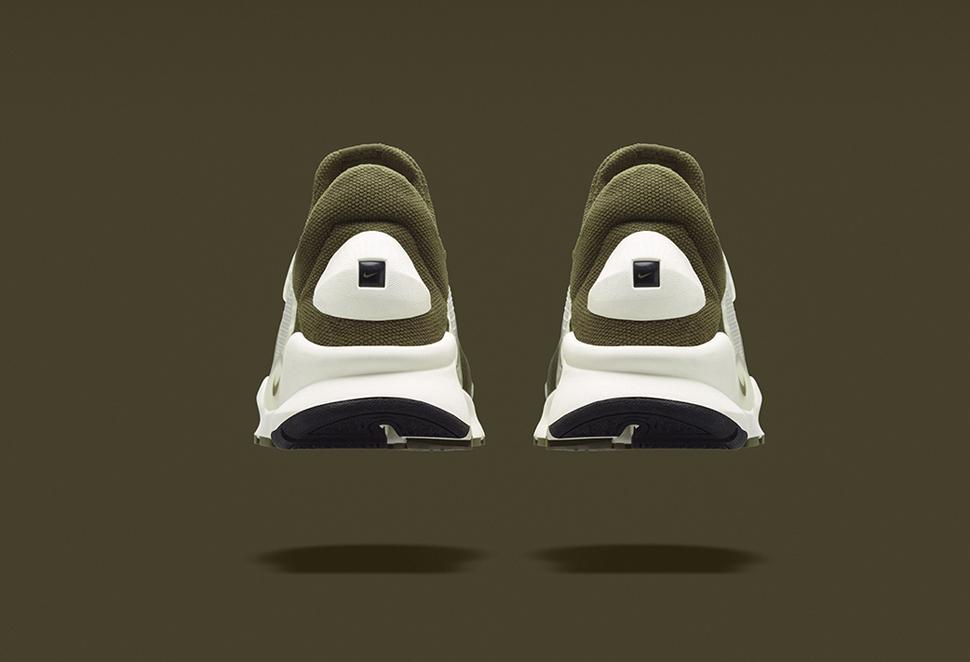 fragment design x Nike Sock Dart Khaki 3