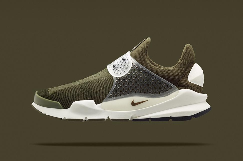 fragment design x Nike Sock Dart Khaki 4