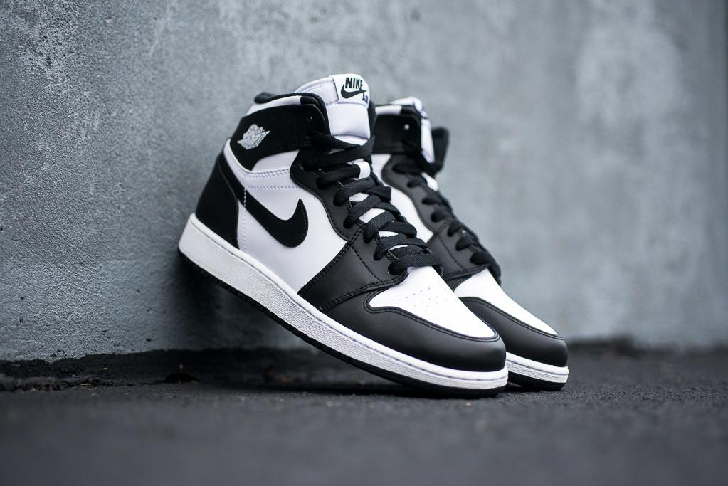 Air Jordan Schwarz Weiß