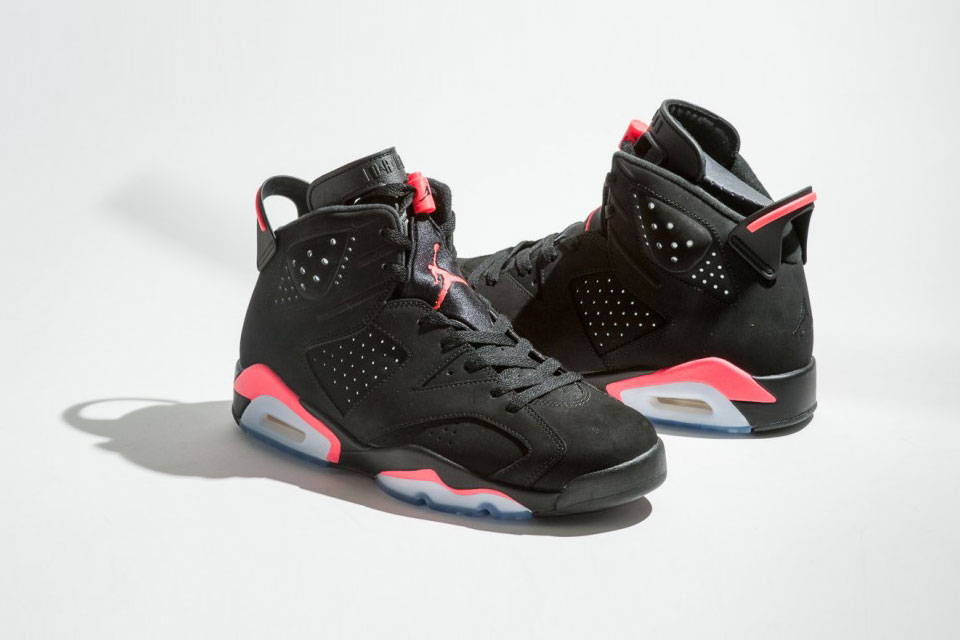 Air Jordan 6 Retro Black Infrared 1