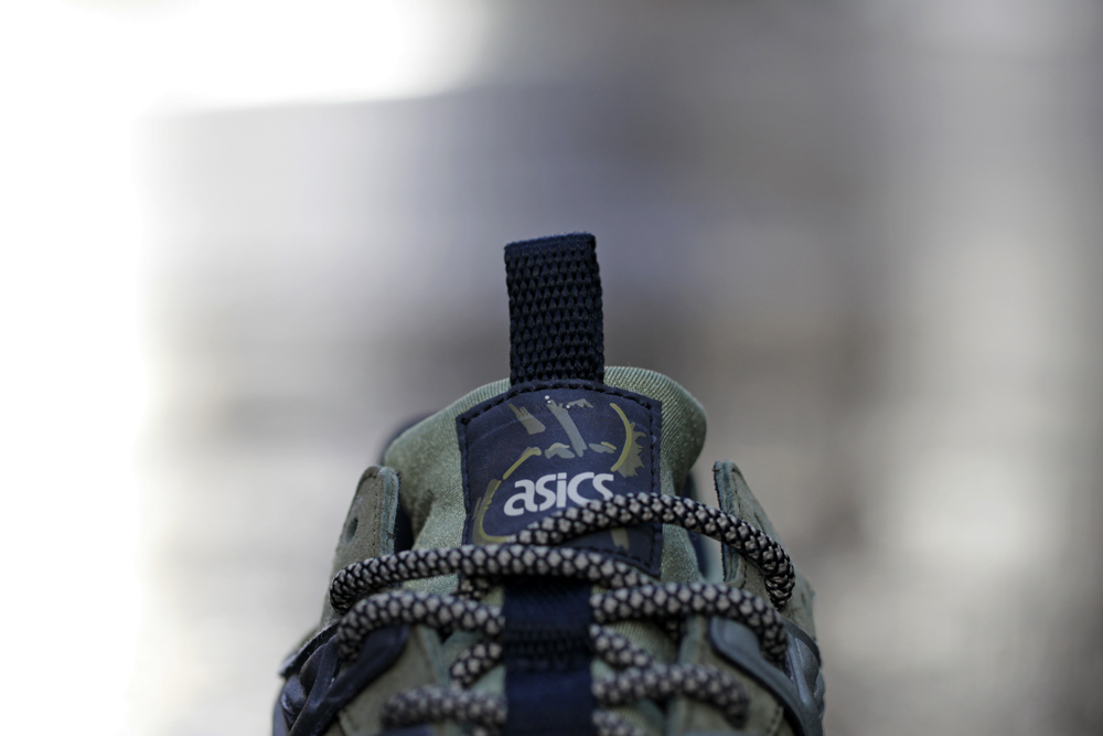 Footpatrol x ASICS GEL Kayano Trainer Dark Olive 1