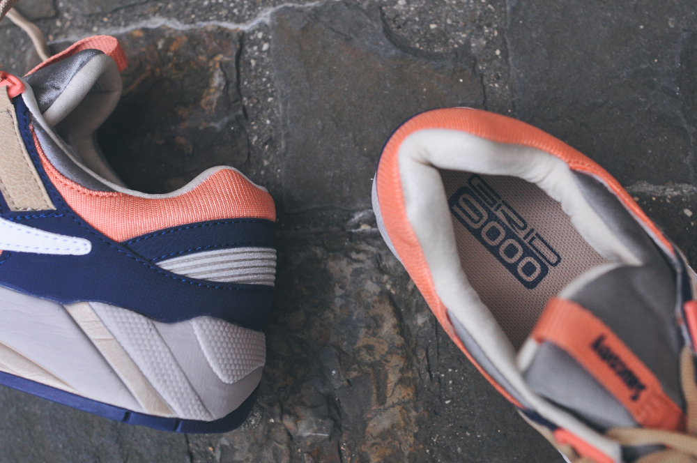 KITH x Saucony Grid 9000 Navy Coral 5 1000x664