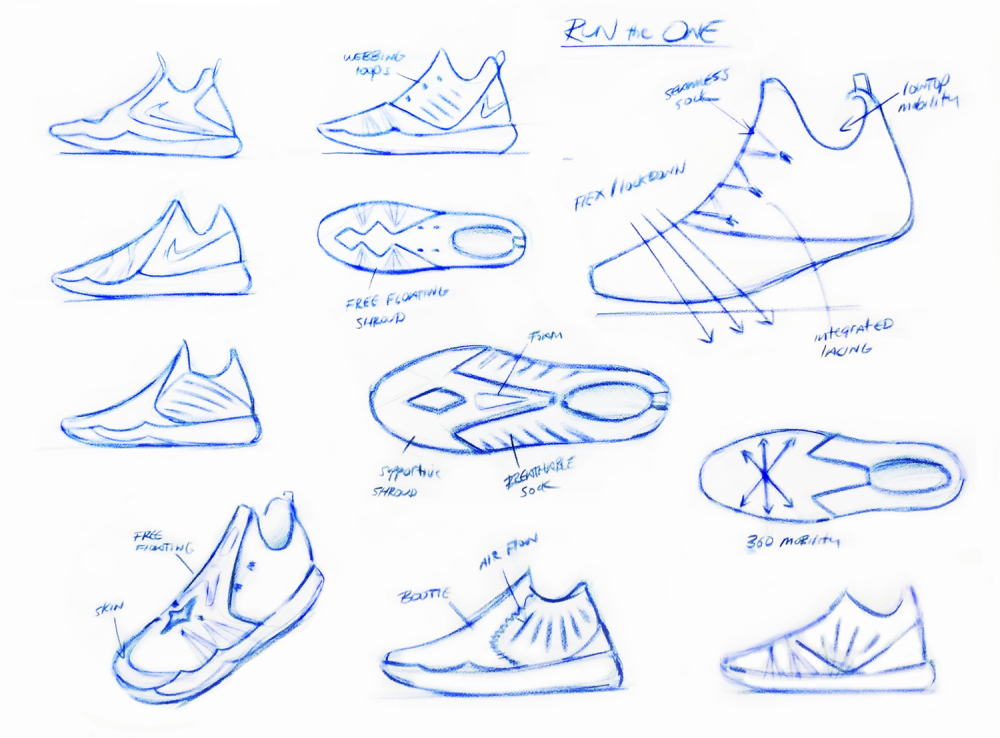 Nike Basketball Zoom Run The One 3 1000x738