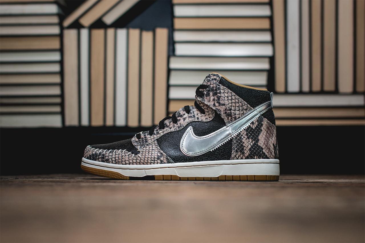 Nike Dunk CMFT PRM Snakeskin 1