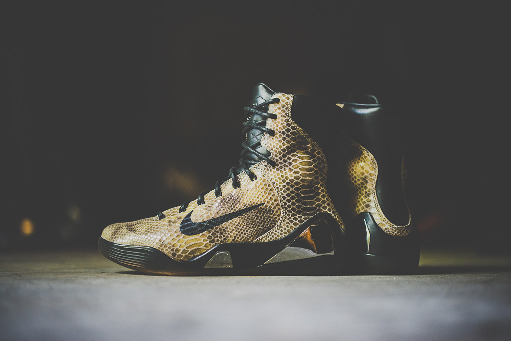 Nike Kobe 9 High EXT Black Black 1