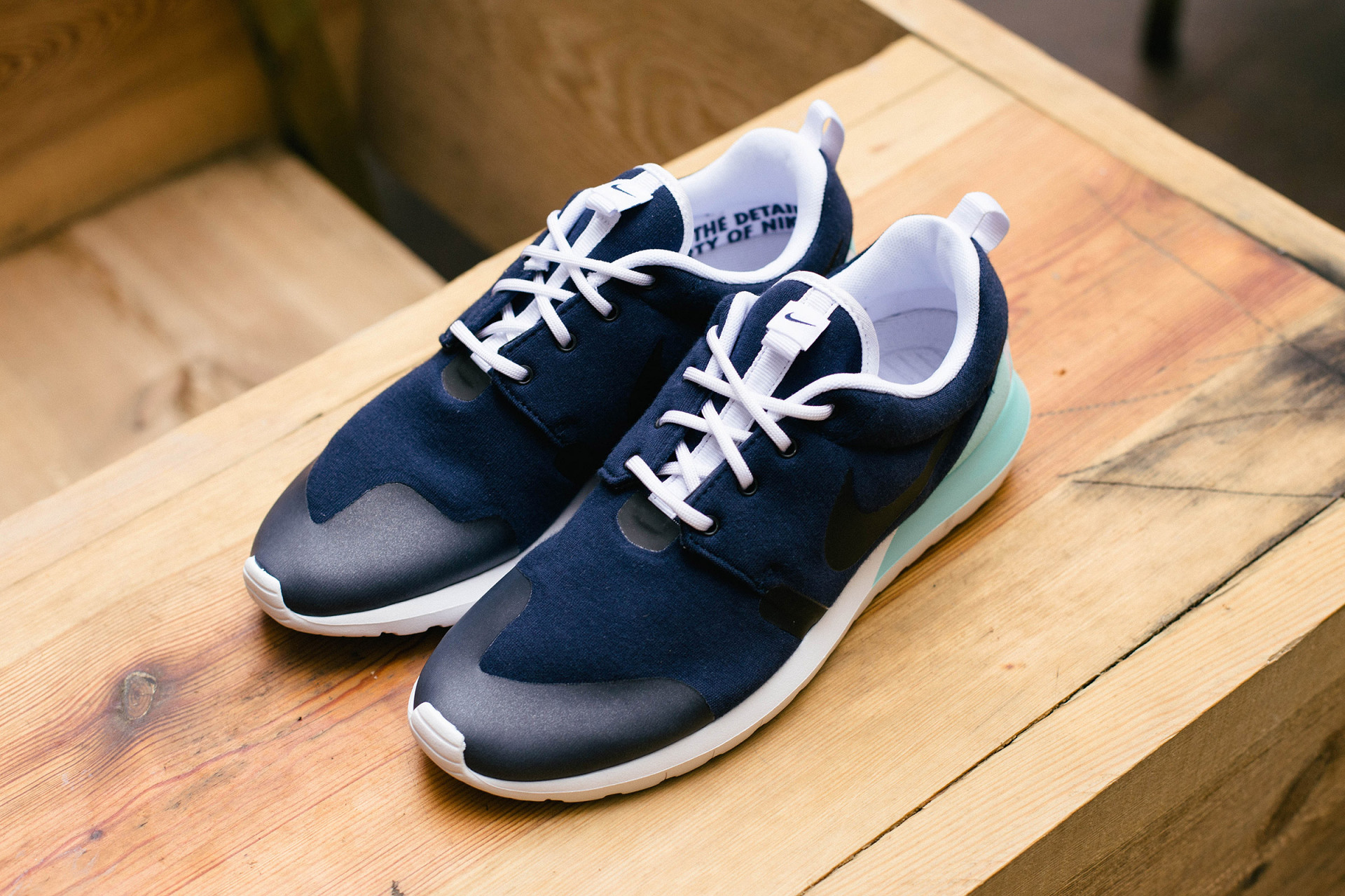 Nike Roshe Run NM W Navy Mint 1