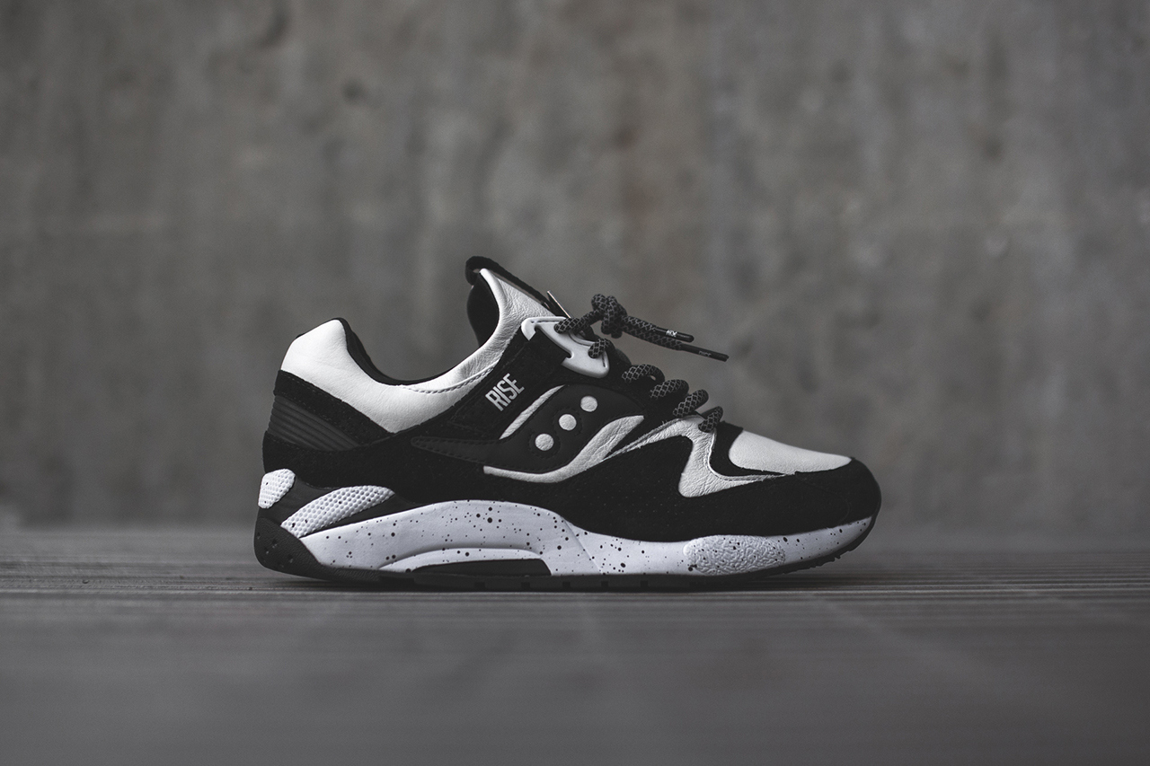 RISE x Saucony Grid 9000 Keys Open Doors 1