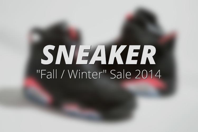 Sneaker Fall Winter Sale 2014