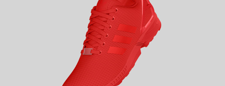 adidas Originals ZX FLUX All Red 1 750x288