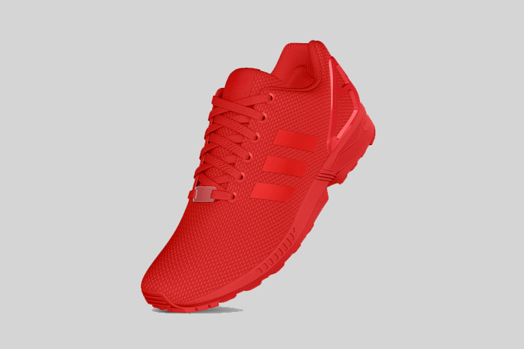 adidas Originals ZX FLUX All Red 1