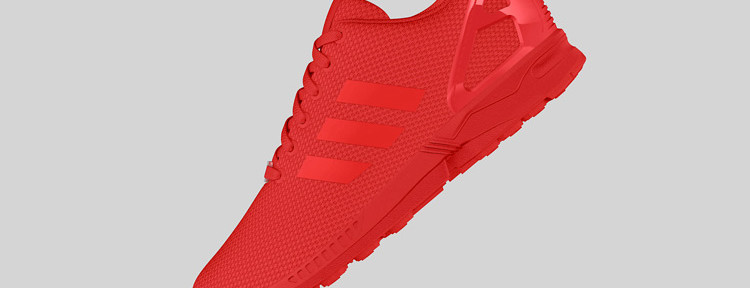 adidas Originals ZX FLUX All Red 2 750x288
