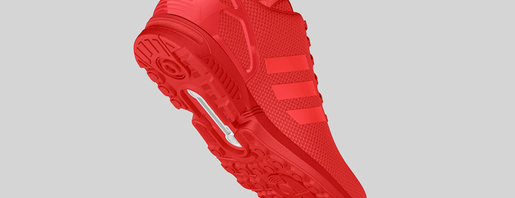 adidas Originals ZX FLUX All Red 5 750x288
