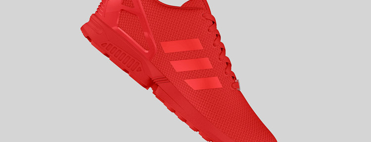 adidas Originals ZX FLUX All Red 6 750x288