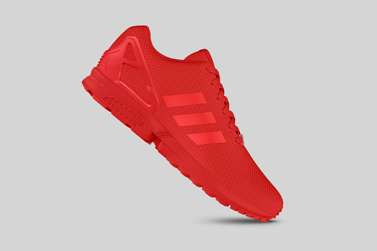 adidas Originals ZX FLUX All Red 6