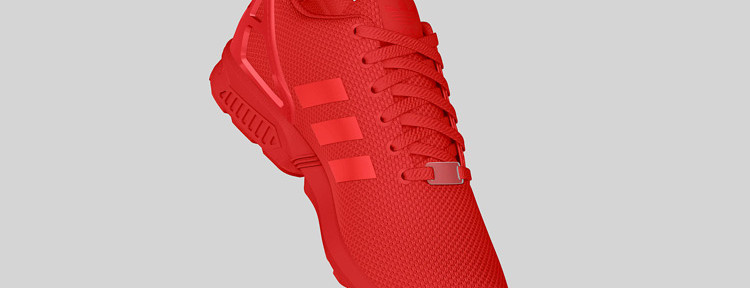 adidas Originals ZX FLUX All Red 7 750x288