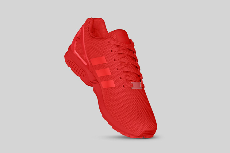 adidas Originals ZX FLUX All Red 7