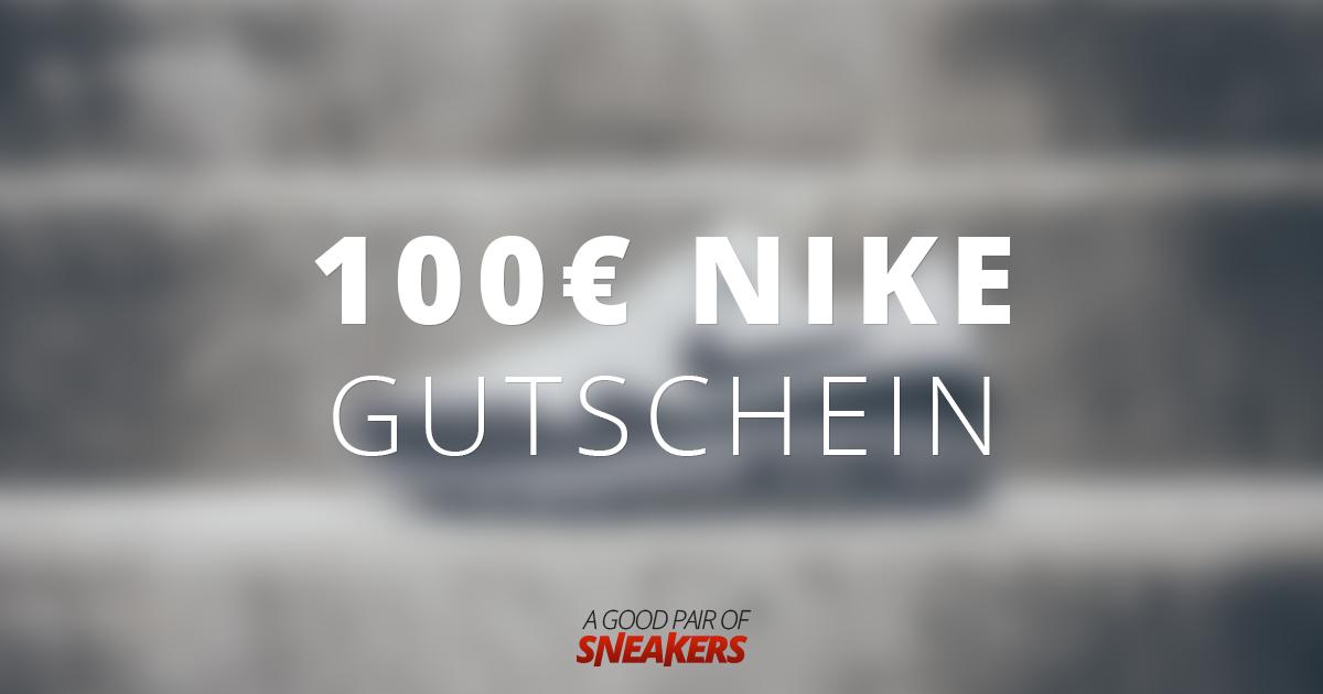 100€ Nike Gutschein