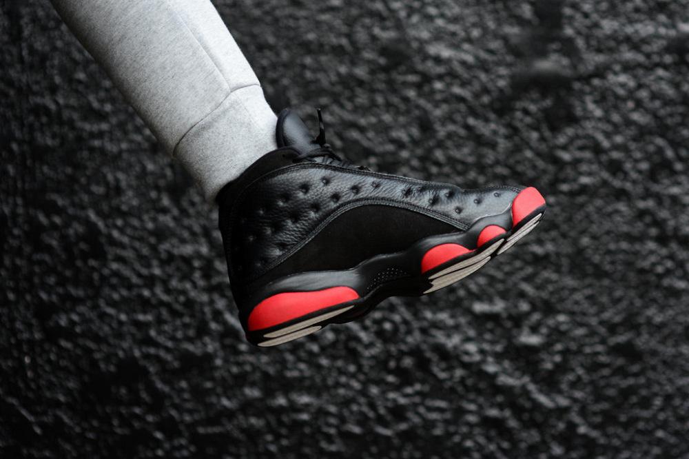 Air Jordan 13 Retro Black Gym Red 6 1000x666