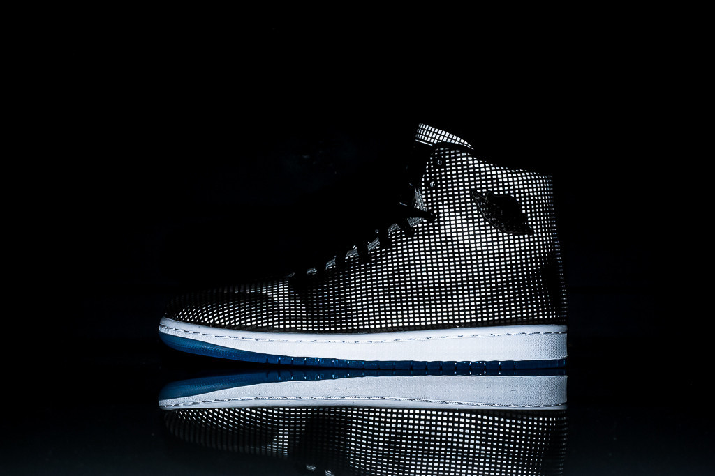 Air Jordan 4LAB1 Black Reflect Silver 1