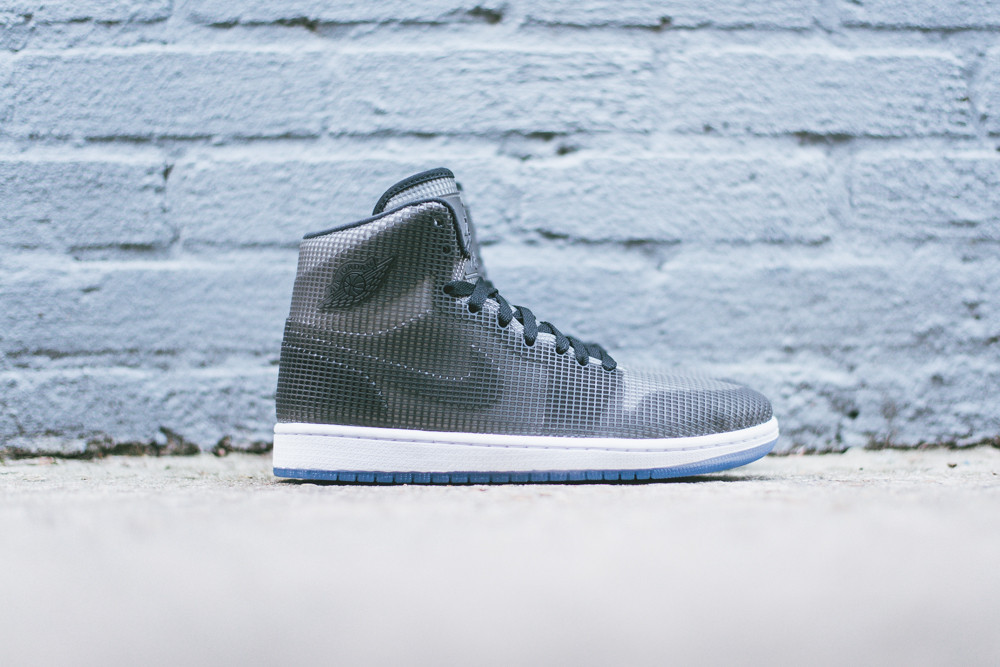 Air Jordan 4LAB1 Black Reflect Silver 3