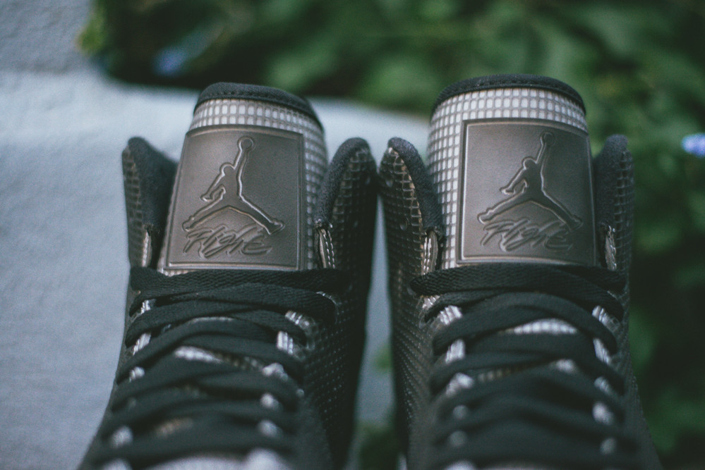 Air Jordan 4LAB1 Black Reflect Silver 9