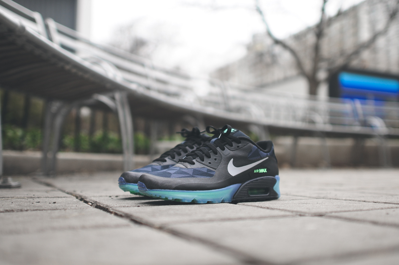 Nike Air Max 90 ICE Black Cool Grey 1
