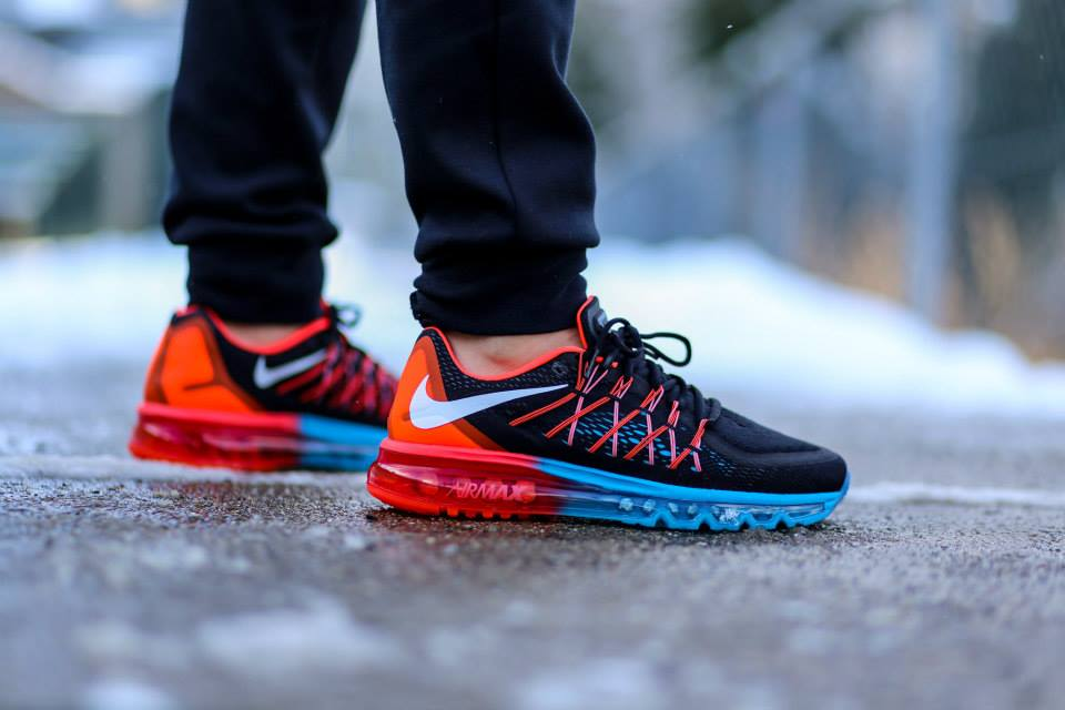 Nike Air Max 2015 Blue Lagoon Bright Crimson 1