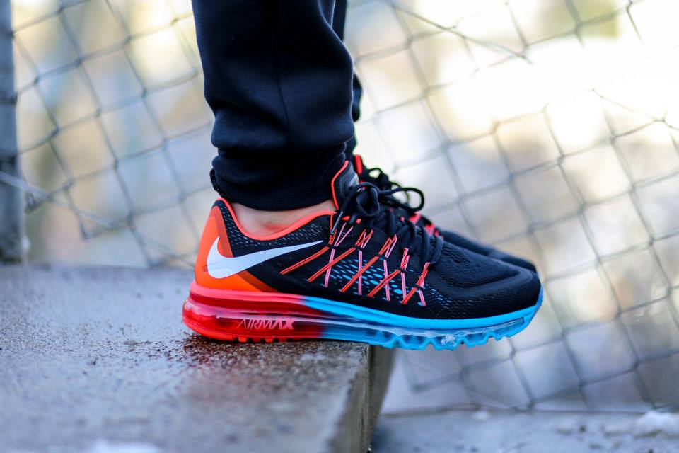 Nike Air Max 2015 Blue Lagoon Bright Crimson 3
