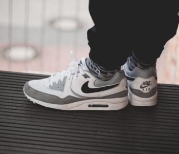 Nike Air Max Light White Grey Black 350x300