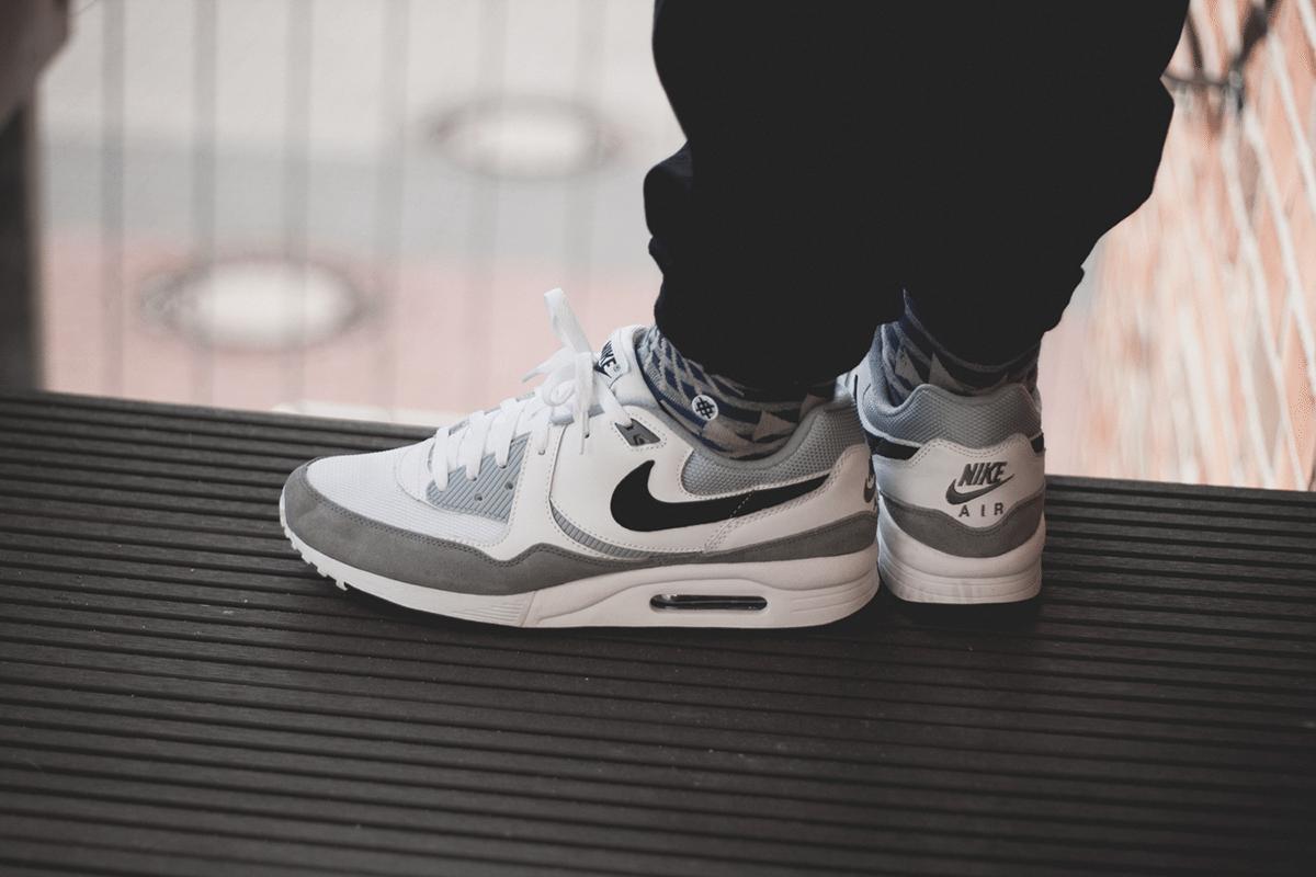 Nike Air Max Light White Grey Black