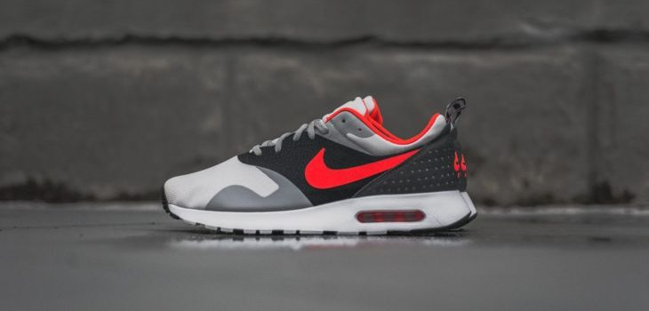 Nike Air Max Tavas Grey Bright Crimson 1 730x350