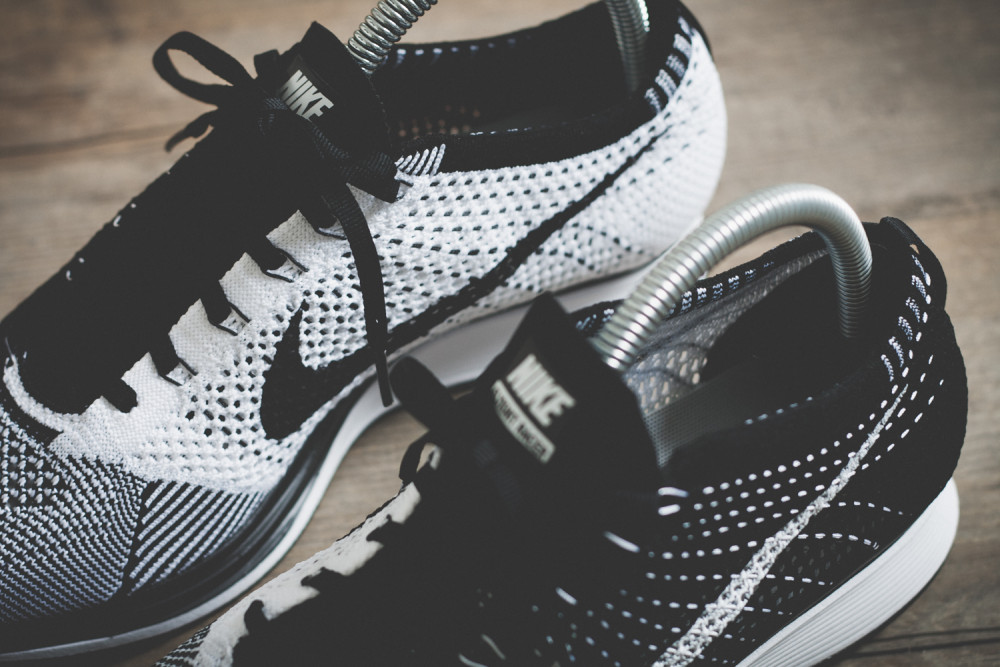 Nike Flyknit Racer Black White Review 12 1000x667
