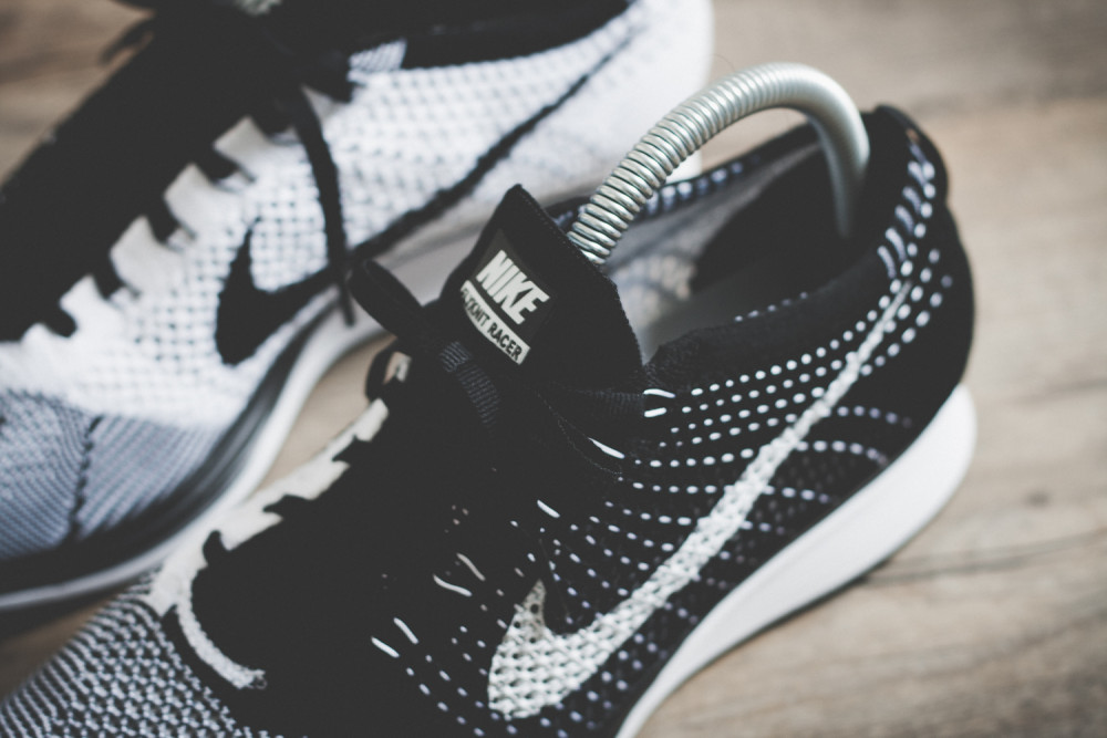 Nike Flyknit Racer Black White Review 13 1000x667