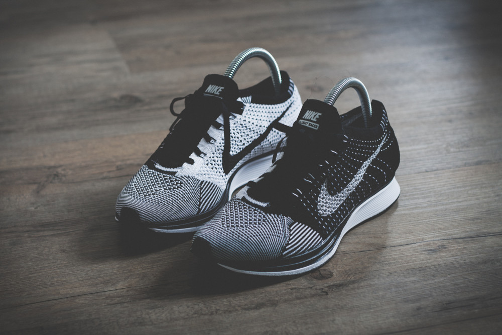 Nike Flyknit Racer Black White Review 2 1000x667