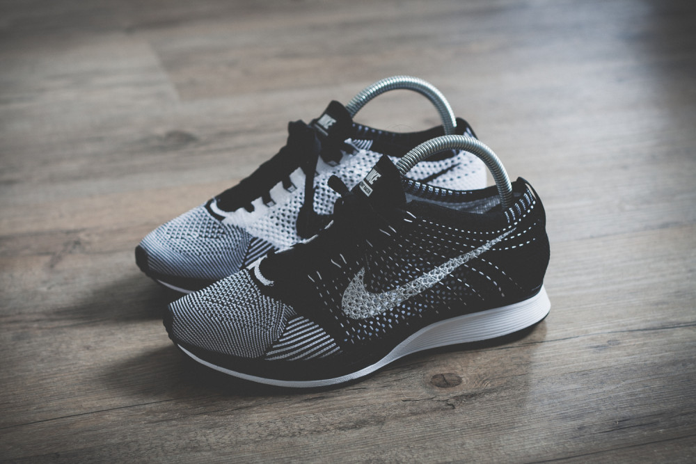 Nike Flyknit Racer Black White Review 3 1000x667
