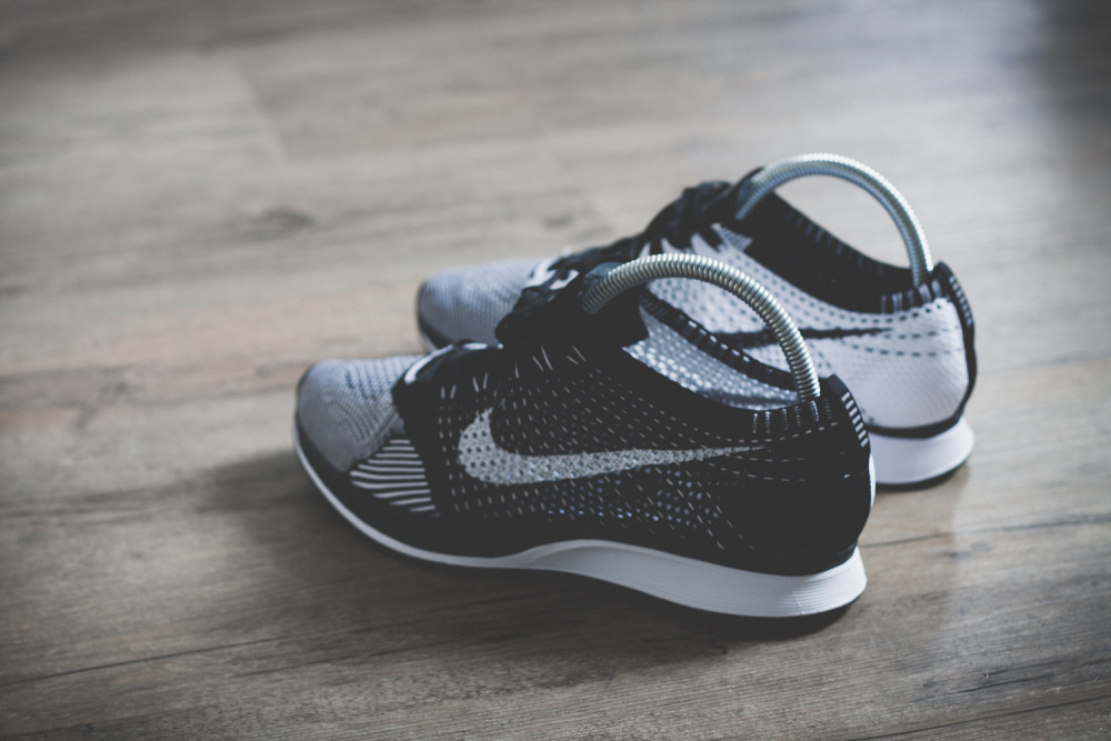 Nike Flyknit Racer Black White Review 4 1000x667
